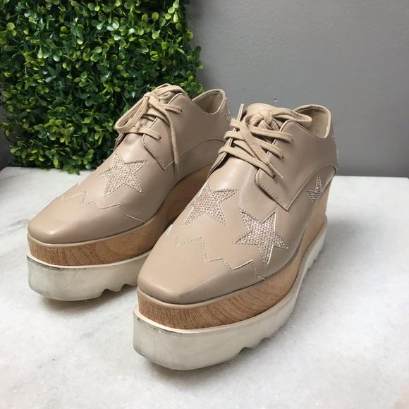 2437611920ed Stella McCartney Elyse Star Beige Shoes. M 5bf386b7df03070cdcacc792